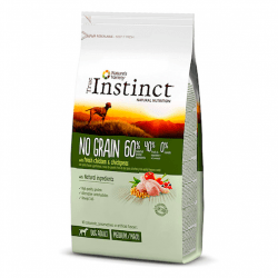 True Instinct NO GRAIN Pollo Medium/maxi para perros