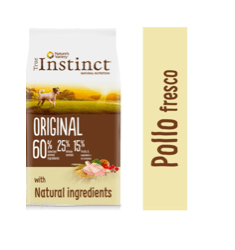 True Instinct ORIGINAL MINI POLLO CON ARROZ INTEGRAL pienso para perro ADULTO