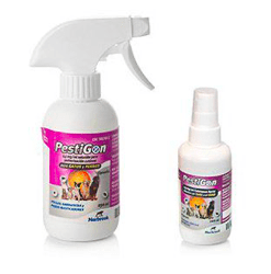 spray antiparasitario para perros y gatos pestigon spray